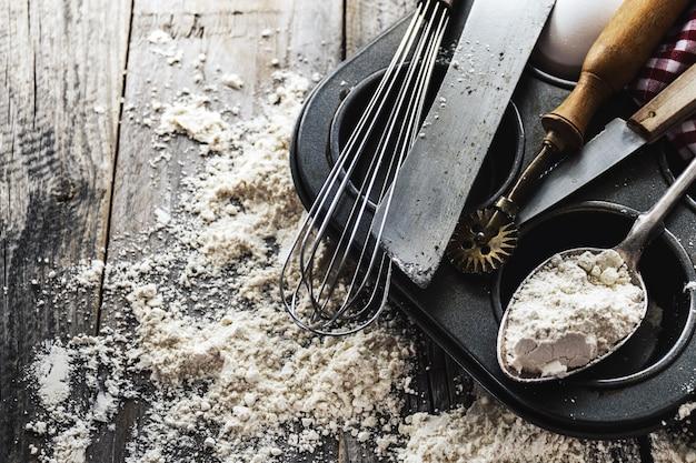 Houten Accessoires Keuken : Bakkenconcept keuken koken bestek accessoires voor bakken op