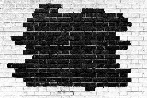 Bakstenen muur textuur achtergrond Premium Foto