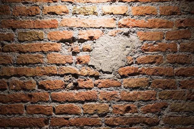 Bakstenen muurtextuur dicht omhoog Gratis Foto
