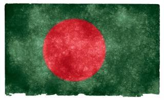 Bangladesh grunge vlag Gratis Foto