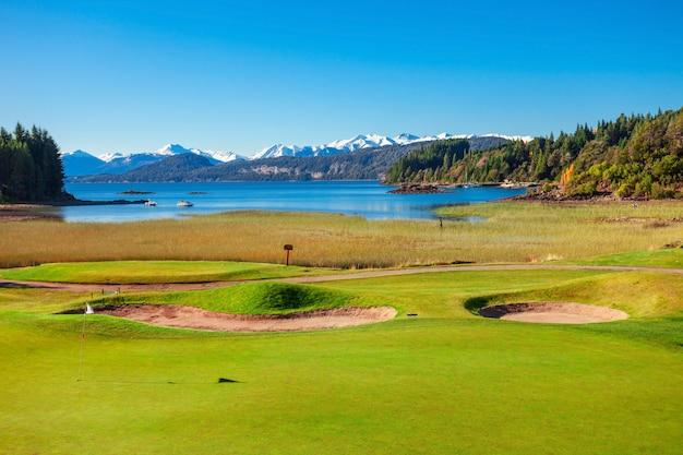 Bariloche landschap in argentinië Premium Foto