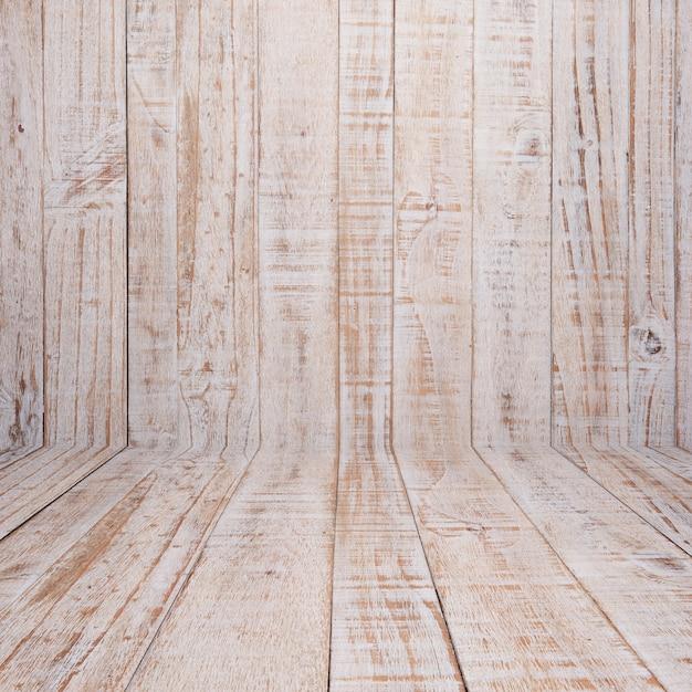 Bedorven wit hout Gratis Foto