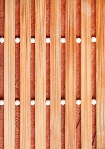 Beige houten mat Premium Foto