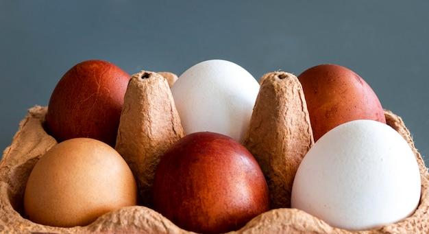 Bekisting met eieren Gratis Foto