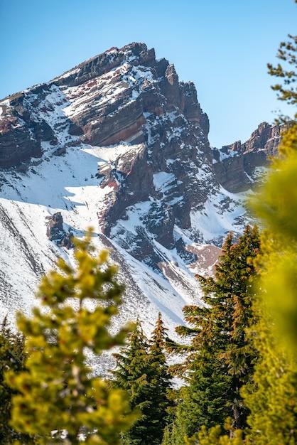 Bergtop Gratis Foto