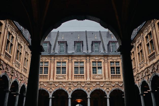 Beroemde historische vieille bourse in lille in frankrijk Gratis Foto