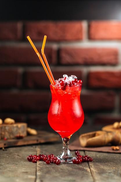 Bessen zomer cocktail Premium Foto