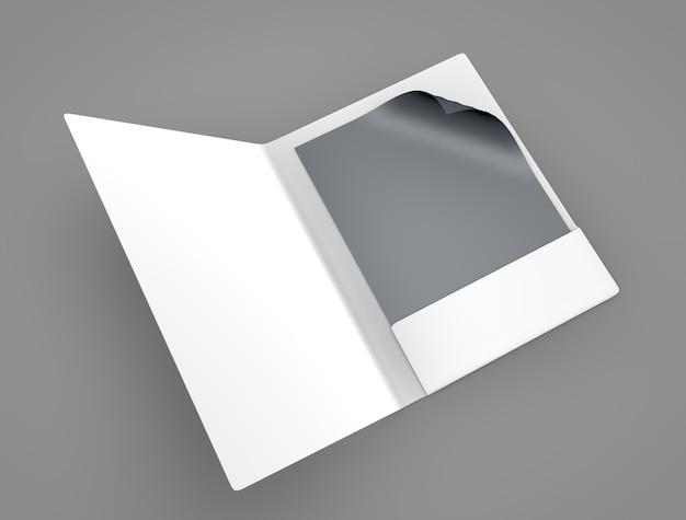 Bestand cover mockup Premium Foto