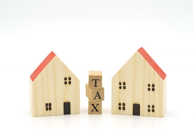 Betaal jaarinkomen (belasting) voor het jaar als achtergrond bedrijfsconcept en financieringsconcept Premium Foto