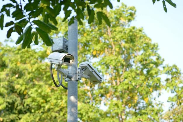 Beveiligingscamera Premium Foto