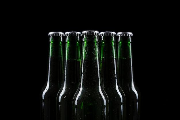 Bierflesjes boven Gratis Foto