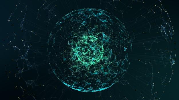 Big data-concept. Premium Foto