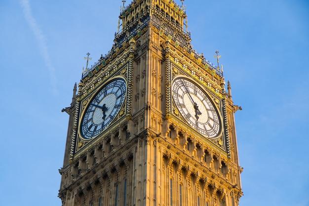 Bigben en het parlement in londen, engeland Premium Foto
