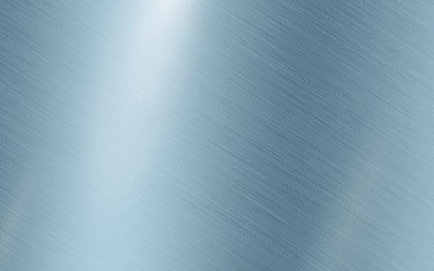 Blauw zilver metallic textuur roestvrij staal Premium Foto