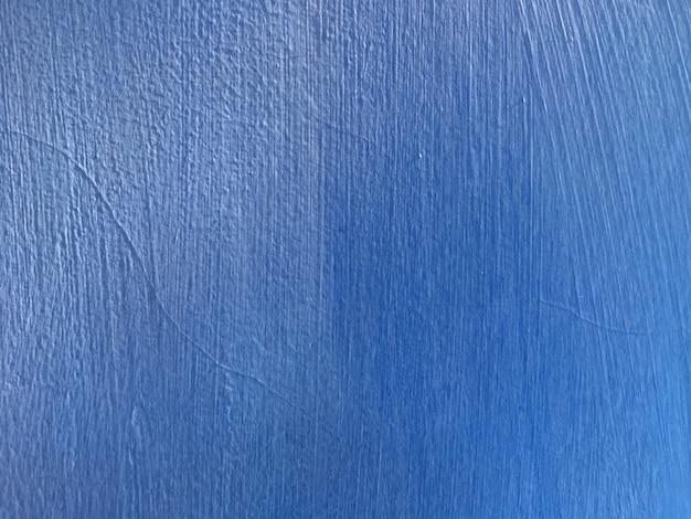 Blauwe betonnen muur achtergrond Premium Foto