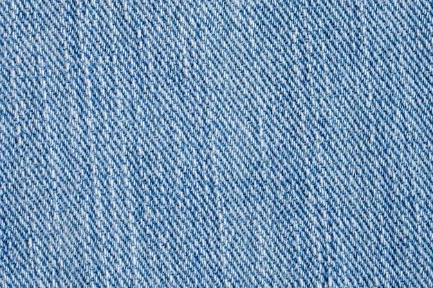 Blauwe denim jeans structuurpatroon Premium Foto