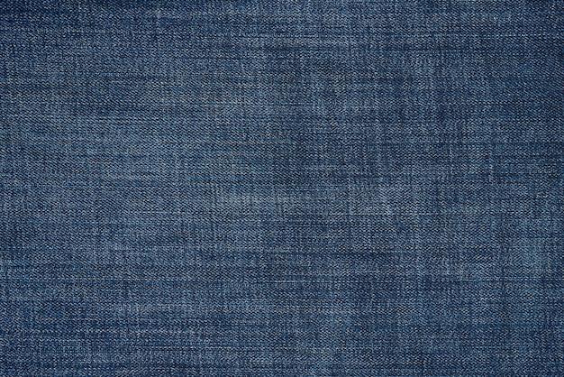 Blauwe denim textuur Premium Foto