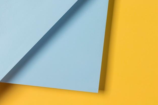 Blauwe en gele kast Gratis Foto