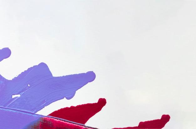 Blauwe en rode lijnen met kopie ruimte Gratis Foto