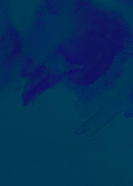 Blauwe geborstelde geschilderde abstracte achtergrond Gratis Foto
