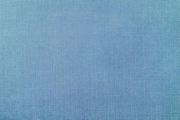 Blauwe geweven stoffenachtergrond Gratis Foto