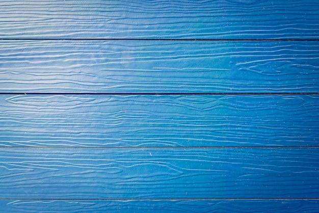 Blauwe houten texturen achtergrond Gratis Foto