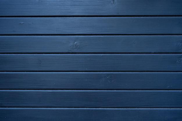 Blauwe houtstructuur van houten muur voor achtergrond en textuur. Gratis Foto