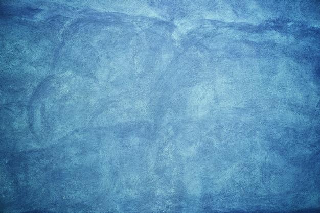 Blauwe muurcementen & texturen Premium Foto