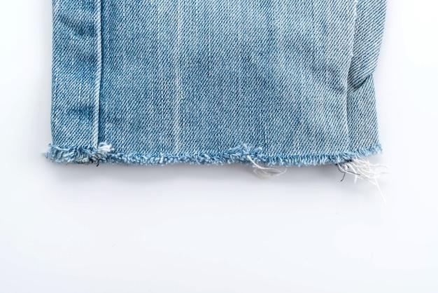 Blauwe spijkerbroek textuur Gratis Foto