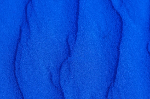 Blauwe zand textuur close-up, martiaanse zand Premium Foto