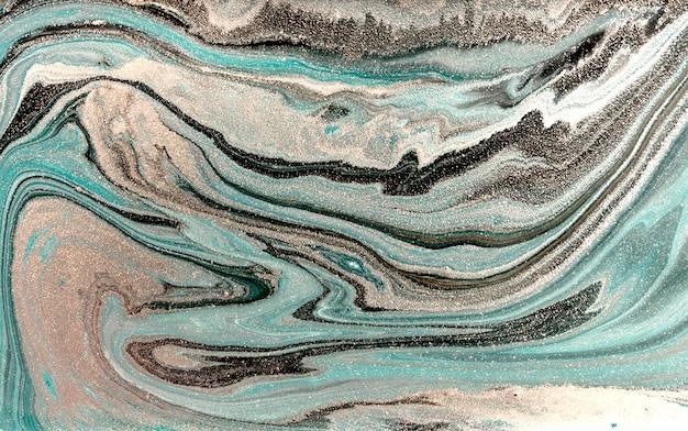 Bleke marmeren achtergrond. eenvoudige marmeren vloeibare textuur. Premium Foto