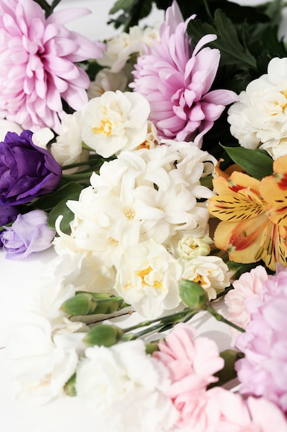 Bloemen boeket close-up Gratis Foto