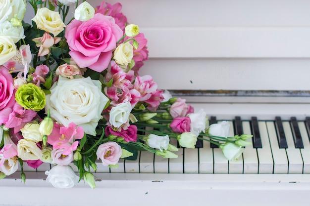 Boeket bloemen Premium Foto