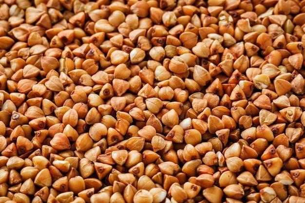 Boekweitvoedsel. handige ontbijtgranen voor vegetariërs Premium Foto