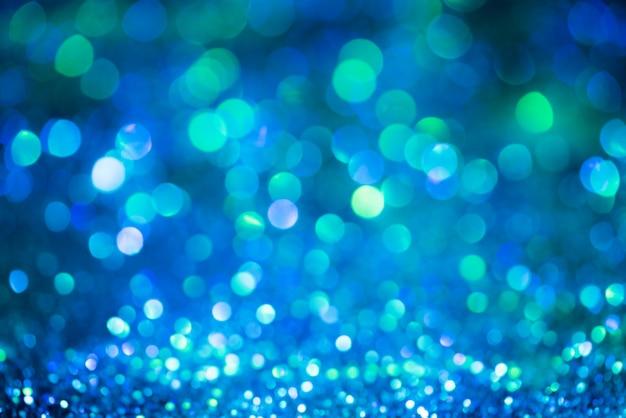 Bokeh glitter kleurrijke wazig abstracte achtergrond voor verjaardag, jubileum, bruiloft Premium Foto