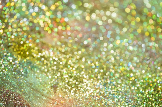 Bokeh glitter kleurrijke wazig abstracte achtergrond voor verjaardag Premium Foto