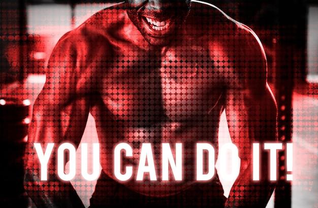 Bouw je eigen lichaam kracht fitness oefening krijg fit Gratis Foto