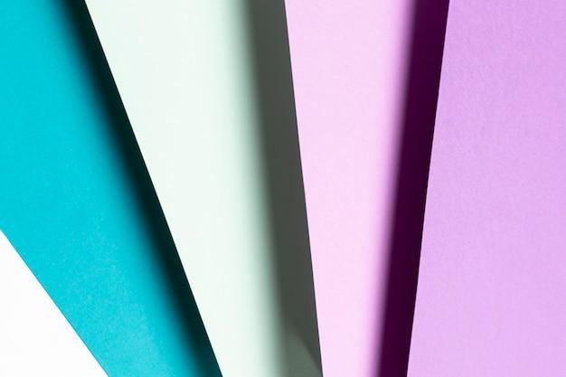 Bovenaanzicht blauw en paars patroon Gratis Foto