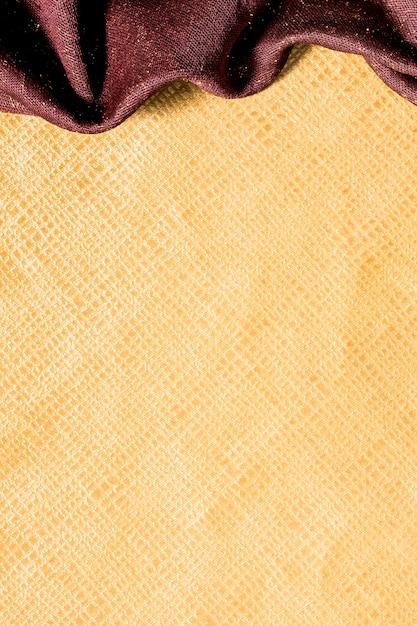 Bovenaanzicht gladde gouden oppervlak Gratis Foto