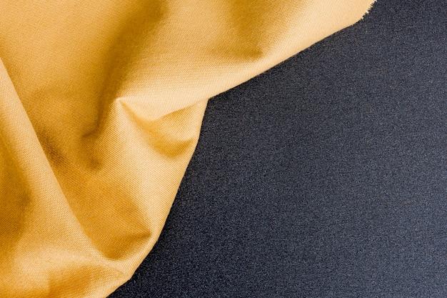 Bovenaanzicht gouden klassieke textuur met kopie ruimte Gratis Foto