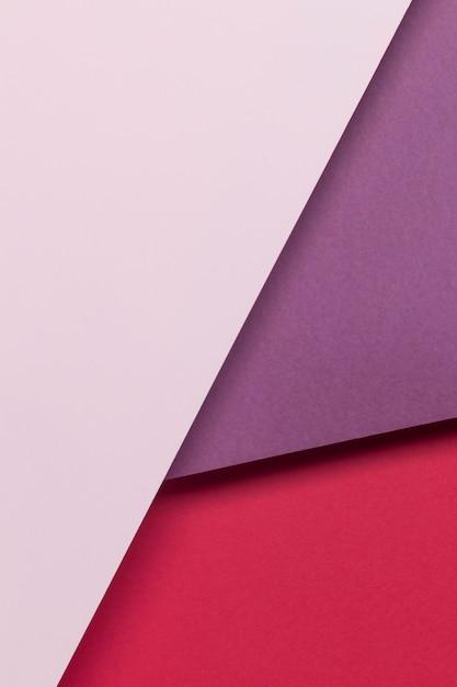 Bovenaanzicht kleurrijke kasten op tafel Gratis Foto
