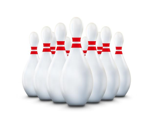 Bowling kegel Premium Foto