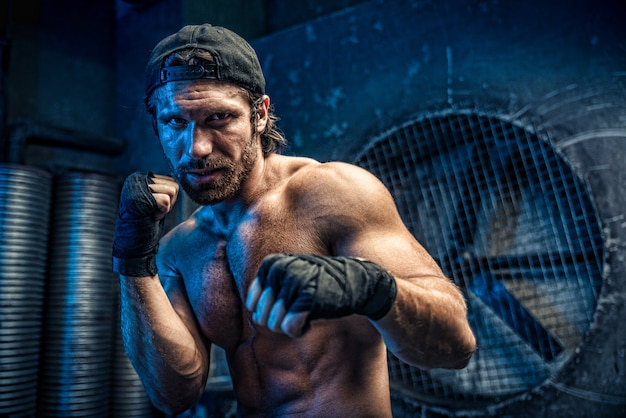 Boxer man Premium Foto