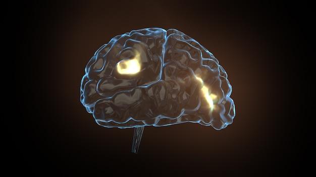 Brain power concept Premium Foto