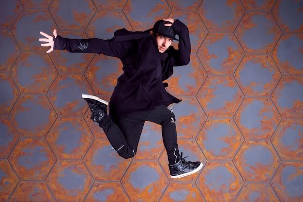 Breakdancer dansen Premium Foto