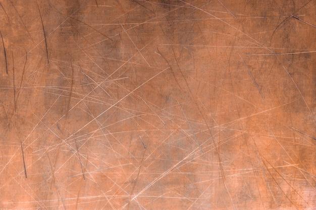 Bronzen textuur, metalen plaat of element voor ontwerp Premium Foto