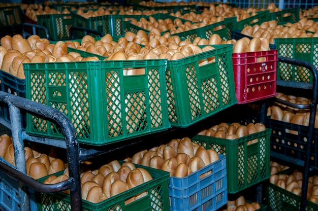 Brood bakken Premium Foto