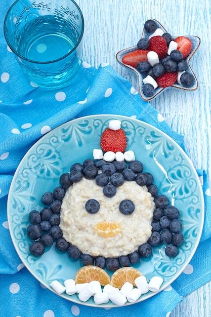 Broodje uil voor de kinderen Premium Foto