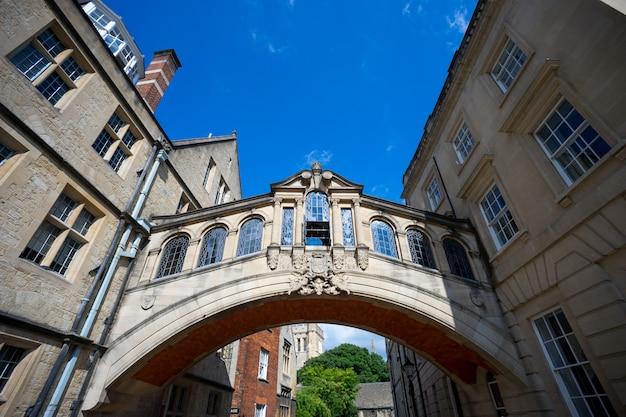 Brug der zuchten, universiteit van oxford, vk Premium Foto