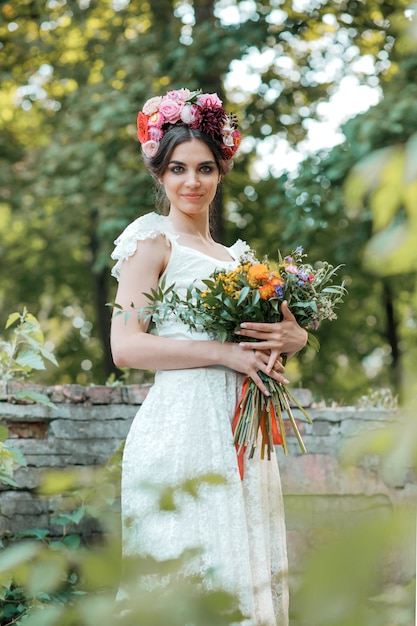 Bruiloft decoratie in de stijl van boho Gratis Foto